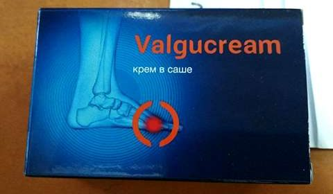 Фото упаковки крема Valgucream